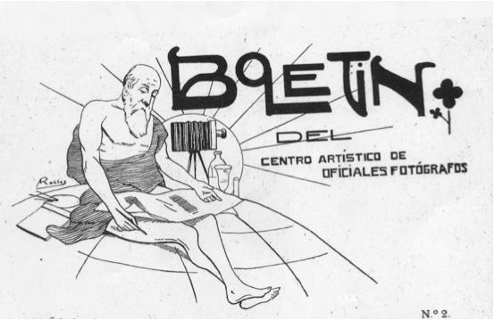 Boletín del Centro Artístico de Oficiales Fotógrafos, 1916. AHCB